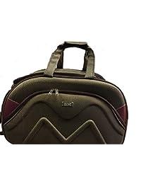 V Care -Multi Color Designer Travel Trolley Duffle Bag Set Of 3