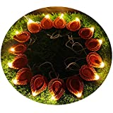 Citra LED Warm White Decoration Lights - 21 Extra Bright Diya String Light For Diwali/Festival / Wedding/Gifting / Xmax/New Year - The Perfect Gifting In 'Gift' Box!