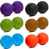 Massage-Ball »Globo« / Zwillings (Twin)-Ball / Faszienrolle für die effektive Selbstmassage / in trendigen Farben
