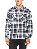 Levi's Barstow Western, Camisa Para Hombre, Gris (Wintercress Dark Heather Gray 246), Small