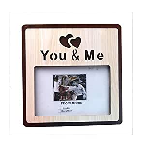 You And Me Photo Wooden Frame Amazonin Jewellery