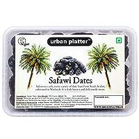 Urban Platter Safawi Dates, 500g [All Natural, Soft & Juicy]