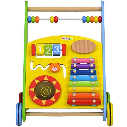 Lauflernwagen für Babys aus Holz von boppi® - Musik - 6