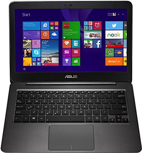 Asus Zenbook UX305FA-FC005T 33,8 cm (13,3 Zoll FHD) Notebook (Intel Core m 5Y10, 8GB RAM, 256GB SSD, HD Graphic, Win 10 Home) schwarz