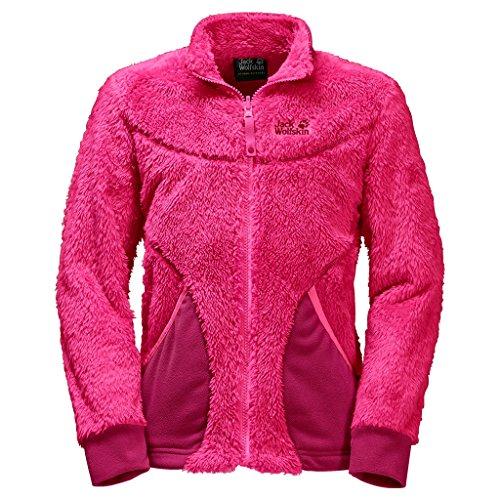 Jack Wolfskin Girls Polar Bear maglione Pink Raspberry