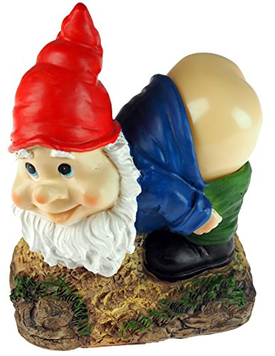 Solar-Power-Bending-Cheeky-Mooning-Garden-Gnome-Ornament-Red