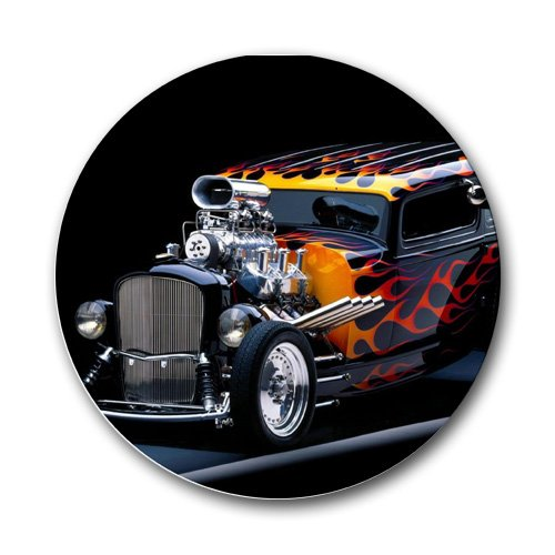 Classic Hot Rod Round Mousepad Mouse Pad Great Gift Idea