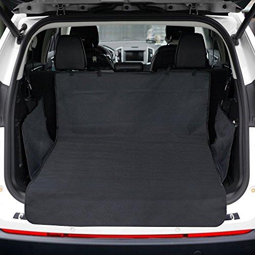 KYG Kofferraumschutz Hunde Wasserdichte Kofferraumdecke für Auto Schondecken mit Seitenschutz Ideal für Hunde Kofferraumschutz Anti Rutsch