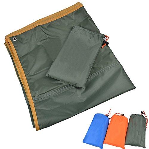 yeshi tragbar Kompression Matte Zelt Matratze Plane Decke Regenschutz für Camping, Picknick, Wandern, grün