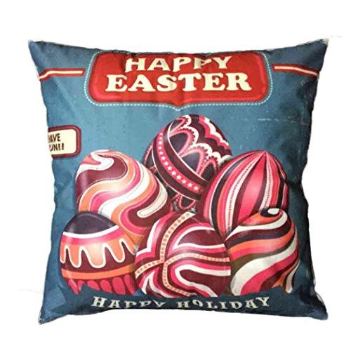 Jamicy Pasqua Festival divano-letto casa decorativo Ultra-velluto 45cm * 45 centimetri federa H Nuevo ozK3EH8