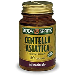 Centella Asiatica 50 Capsule Body Spring