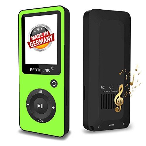 Bertronic BERmp4_bc02_grun MP3-Player, BC-Series Schwarz