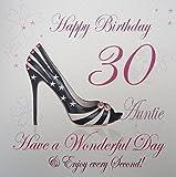 White Cotton Cards WBA30-A Feliz cumpleaños