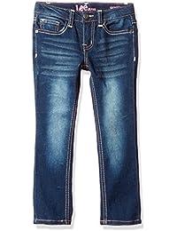 LEE Girls' Aztec Btfly Skinny Jean