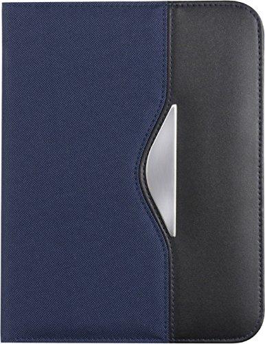 A5–Portadocumentos Incluye Bloc de papel azul