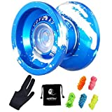 MAGICYOYO Professional yoyos, Top Refers to the King K9 Unresponsive yoyo with...
