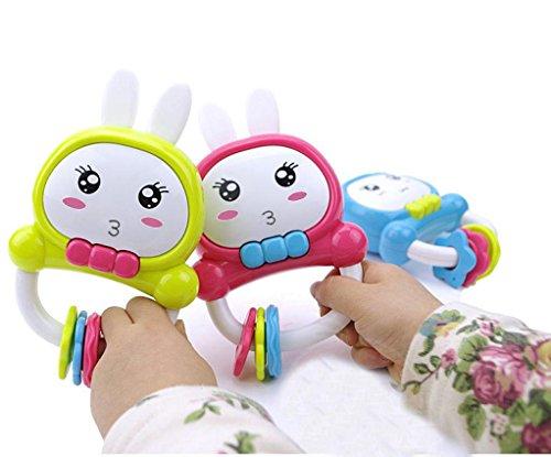 Image of Transer® Toys for Kids- Rabbit Design Musical Handbell- Baby Instrument Toy Gift