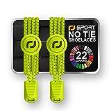 Cordones Elásticos para Zapatillas,RJ-Sport Cordones de Zapatos Sin Atar 120cm Cordones de Bloqueo para Niños,Adulto,Ancianos,Discapacitado,Maratón y Triatlón Atletas,Corredores