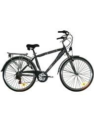 """Bicicleta Trekking Gotty SWIFT, cuadro 28"""" ALUMINIO HIDROFORMADO, Suspensión delantera, cambio 21 velocidades, luces delantera y trasera."""