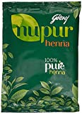 Godrej Nupur Mehendi poudre de henné 9 Herbes Blend, 120-g (2 Pack)