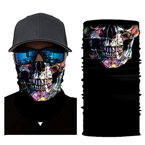 Festnight Máscara robótica de la Bufanda Joker Diadema Balaclavas para Ciclismo Pesca Motocicleta esquí AC335