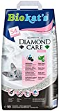 Biokat's Diamond Care Katzenstreu – Hochwertige Klumpstreu für Katzen mit Aktivkohle und Aloe...