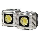 Lume Cube LC0010GR - Antorcha LED para cámaras, Gris Antracita - Kit de 2 Unidades