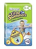 Huggies Little Swimmers, Größe 3/4, 2er Pack (2 x 12 Stück)