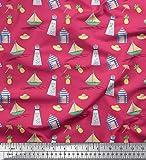 Best Nautica Quilts - Soimoi Rosa Velluto Tessuto Ananas, Faro e Yacht Review