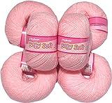 #9: Vardhman Acrylic Knitting Wool, Pack of 6