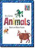 Eric Carle's Animals: Book and Block Puzzle (The World of Eric Carle)