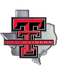 NCAA Texas Tech Red Raiders Logo Hitch Cover Class II & III by Siskiyou