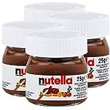 4x Ferrero Nutella World Glas Brotaufstrich Schokolade 25g