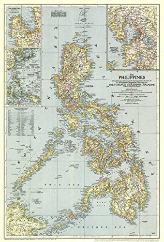 Reproduktion eines Poster Präsentation-Philippinen, die (1945)-61x 81,3cm Poster Prints Online kaufen -