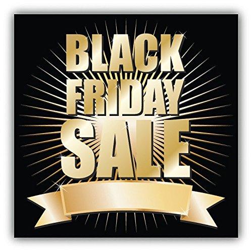 Black Friday Sale Shine Hochwertigen Auto-Autoaufkleber 12 x 12 cm