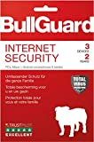 Bullguard Internet Security 2018 - Lizenz für 2 Jahre 3 Geräte! Windows|MacOS|Android [Online Code]