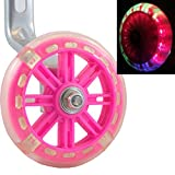 Wheels of Awesomeness–Intermitente LED para ruedines para bicicletas de niños de Bikes & Coi....