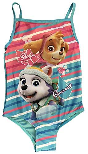 Preisvergleich Produktbild Paw Patrol Mädchen Badeanzug mehrfarbig multi Gr. 5/6 Jahre, multi