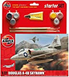Airfix 1:72 Douglas A-4 Skyhawk Military Aircraft Category 2 Gift Set