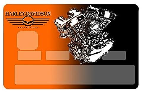 Stickers CB, autocollant pour carte bancaire, Harley, par le DgedeNice,