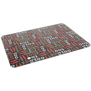 Apollo Housewares 8651 Apollo Glass Board Too hot 38x28cm, Plastic