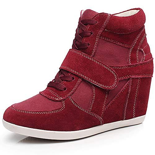 Estas zapatillas son de ajuste perfecto y con un talón de cuña oculta es una buena altura lo suficientemente alta como para dar un agradable ascensor, pero no lo suficientemente alto como para ser incómodo. Los materiales suaves pueden hacer que los ...