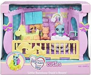 Hasbro - My Little Pony - 68725 - Poupée - Bébé Poney Nurserie - Little Rainbow Dash's Room (Playset)