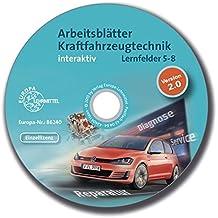 Arbeitsblätter Kraftfahrzeugtechnik Lernfelder 5-8 interaktiv - Einzellizenz
