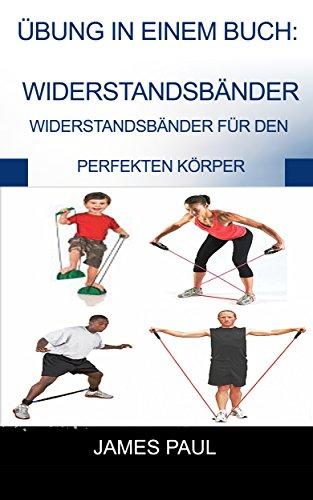 Übung in einem Buch:  Widerstandsbänder