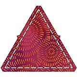 AccuQuilt 55429 Stanzform gleichseitiges Dreieck 4 1/2 Zoll, 11,4 cm, 4 1/4 Zoll / 10,8 cm fertige Kantenlänge