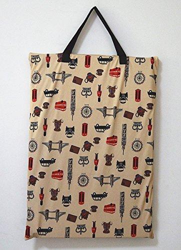 Groß zum Aufhängen Nass/Trocken Tuch Windel, die Sie Tasche für Wiederverwendbare Windeln oder Wäschebox london