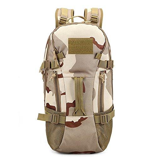 Yoxi militare assalto borsa a tracolla molle regolabile Sling zaino da combattimento tattico zaino, Camouflage#3 Camouflage#4