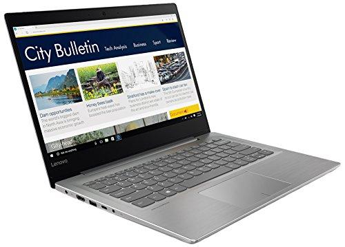 """Lenovo 320S-14IKB Portatile con Display da 14.0"""" FullHD IPS, Processore Intel Core I3-7130U, RAM 8 GB, 256 GB Sata(N) SSD, Scheda Grafica Integrata, S.O. W10 Home, Grigio"""