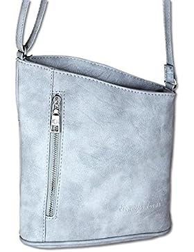 Jennifer Jones Taschen Damen Damentasche Handtasche Schultertasche Umhängetasche Tasche klein Crossbody Bag (3107)